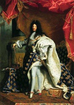 Louis XIV en majesté